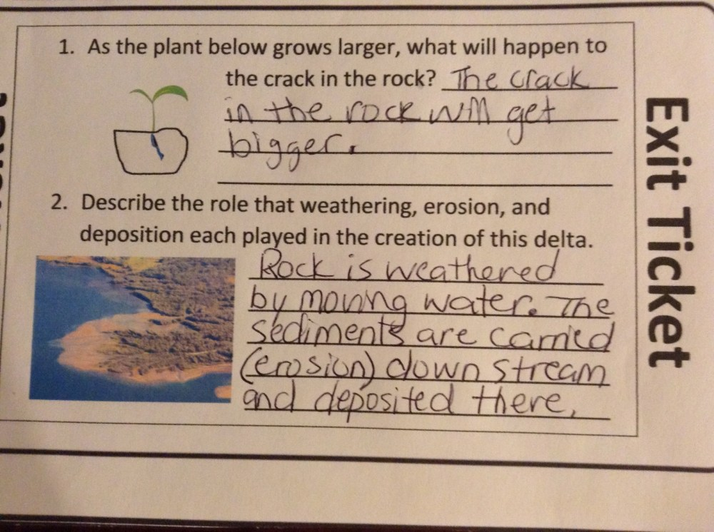 medium resolution of Fifth grade Lesson Weathering