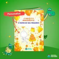livro personalizado aniversário