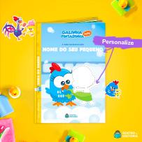 livro personalizado galinha pintadinha