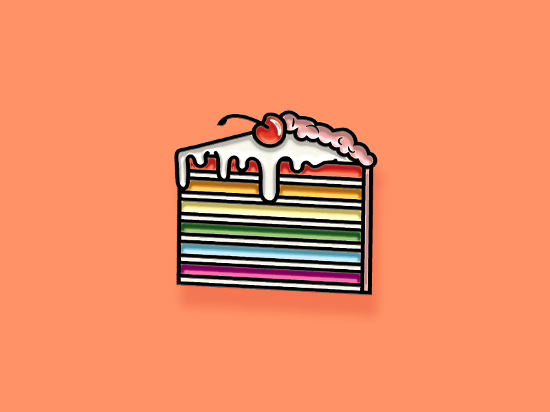 Pride pin