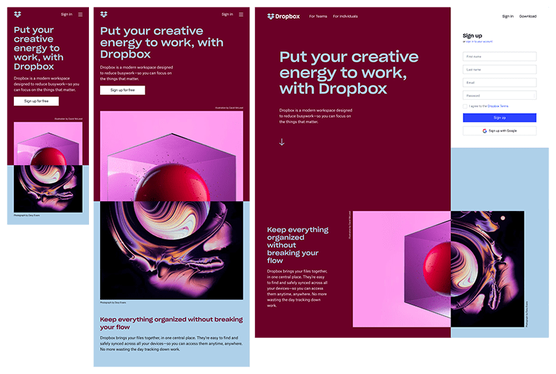 11 Powerful Examples Of Responsive Web Design Ux Hacker