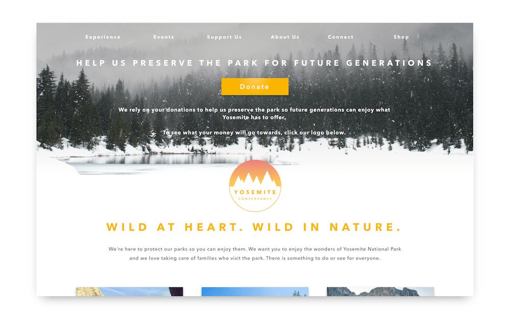 Yosemite design challenge