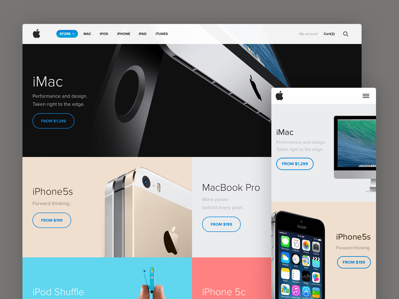 Apple Store redesign concept