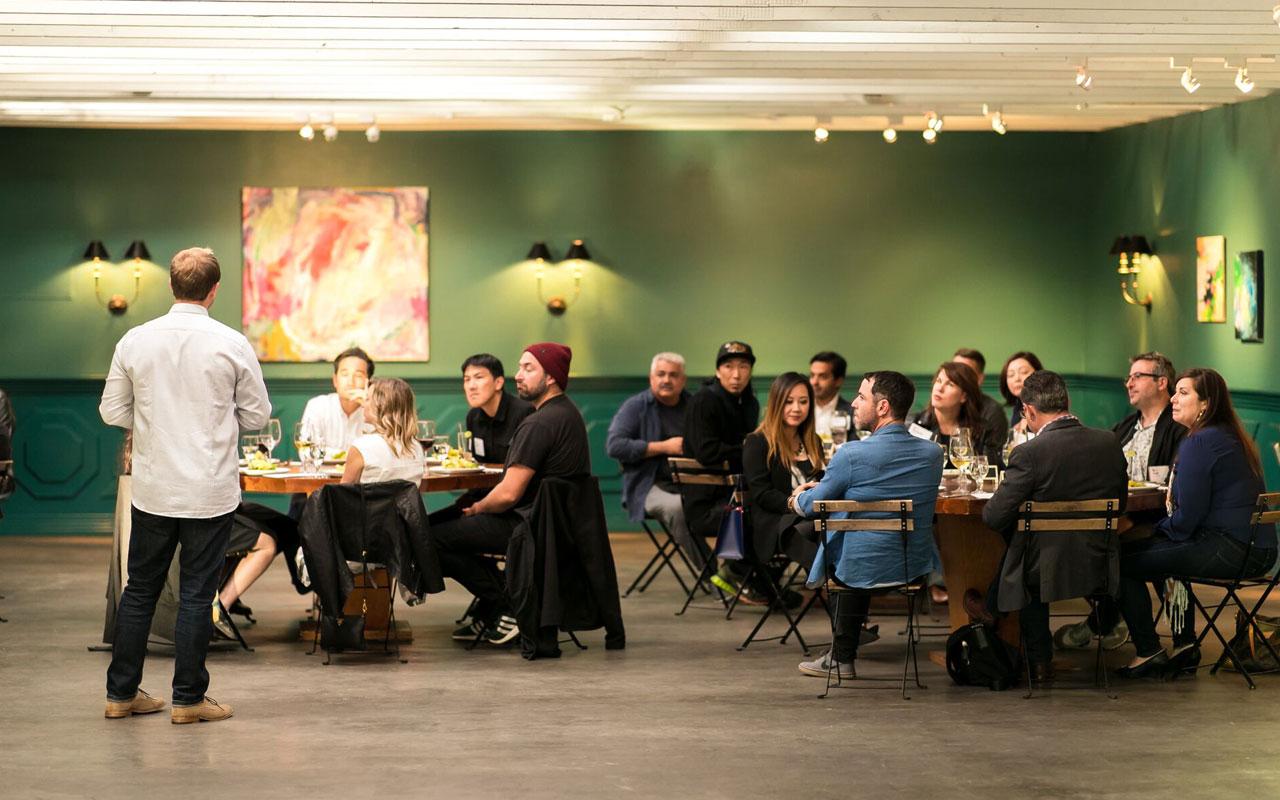 Design Leadership Forum dinner