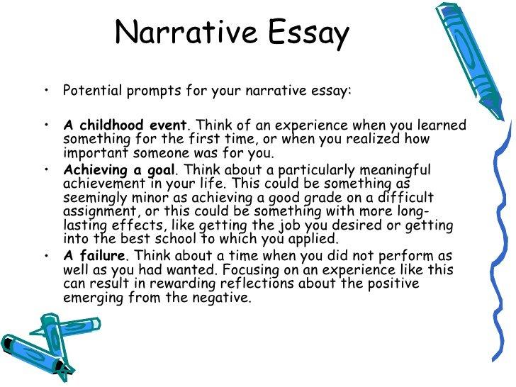 How to write a narrative essay example topics  CustomWritingcom