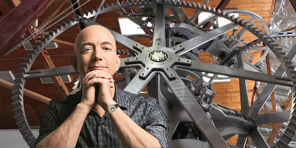 Jeff Bezos' 10,000 Year Clock will Blow Your Mind