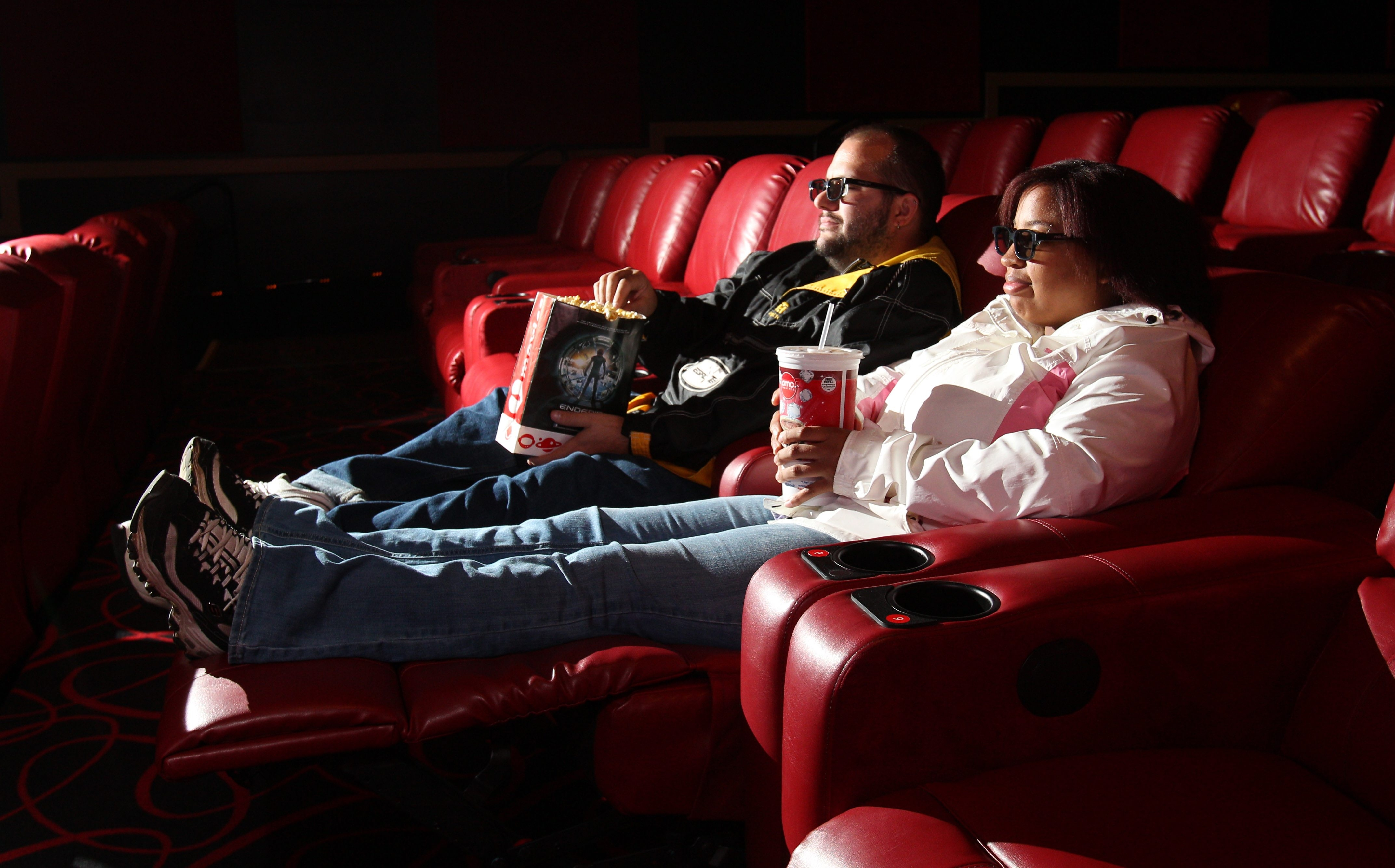 Reclining Chair Movie Theater Laid Back Reclining Reserved Seats Draw Patrons Back To Amc