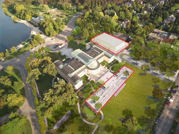 Albright-knox Expansion Bury Parking Create