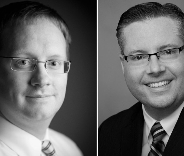 Brian Connolly Left And Shawn Buffum Right Have Been Named Vice Presidents
