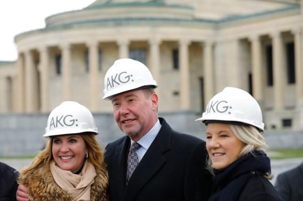Albright-knox Expansion Kicks With 10m