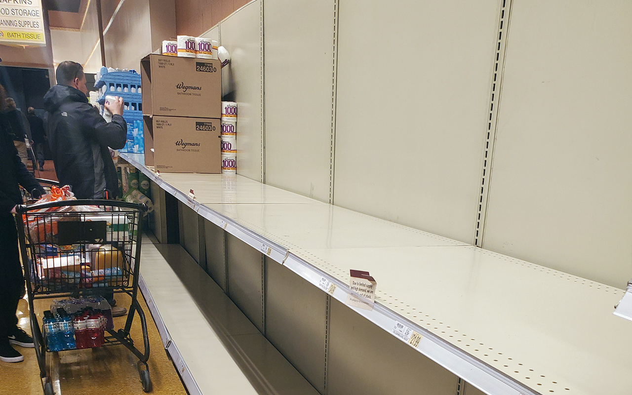Wegmans limits toilet paper purchases as COVID-19 squeezes supply