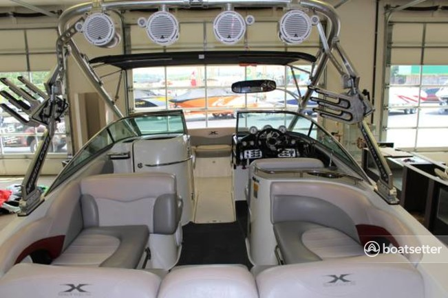 Rent A 2007 28 Ft Mastercraft Boat Co X80 Sts In Lincoln