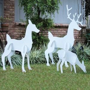 Christmas Reindeer Family Set