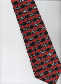 Stafford Executive Tie - Black, White, Red, Gray ...