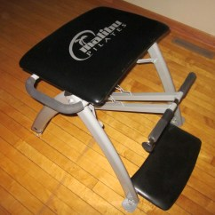 Malibu Pilates Chair White Resin Lounge Chairs Review