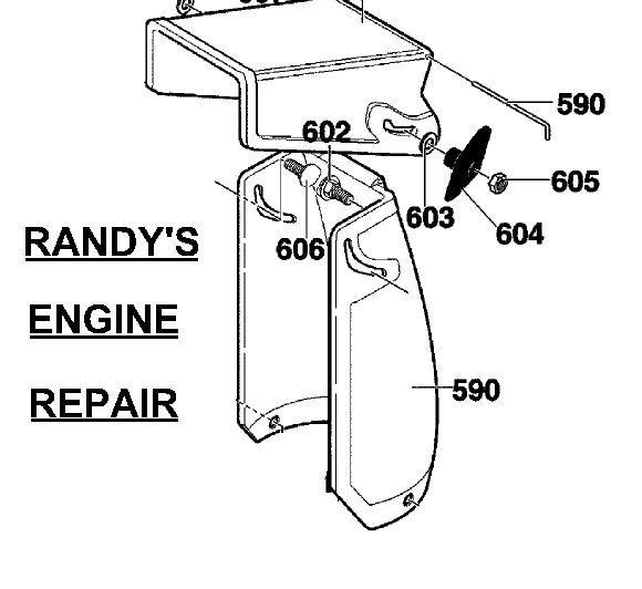 Murray Craftsman 308931MA Hinge Pivot Pin Wire Snow