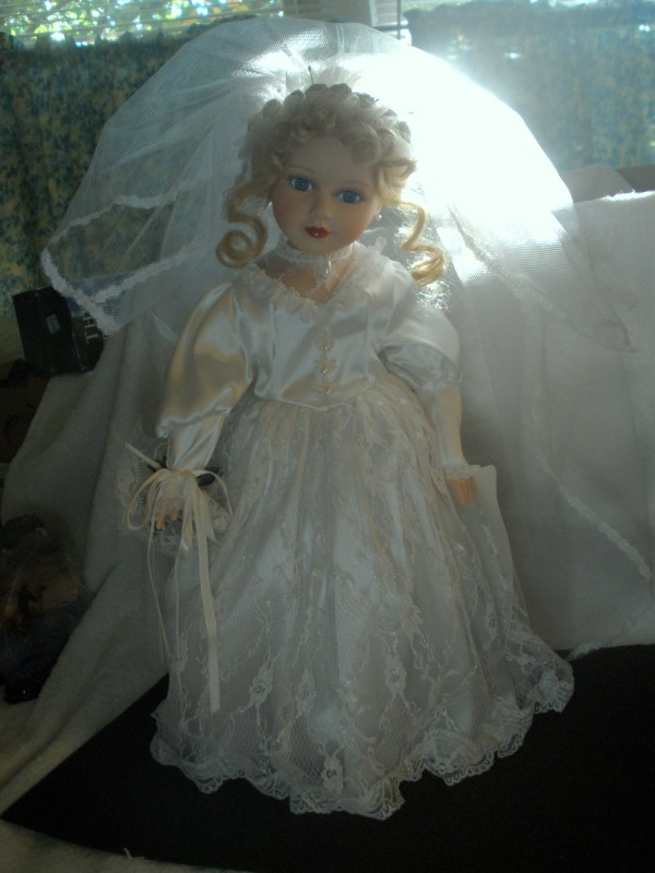 American Classics Collection Porcelain Leslie Bride Doll