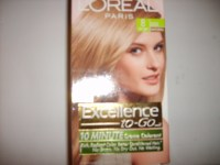 Loreal Excellence to go 10 Minute Hair Color 8 Medium ...