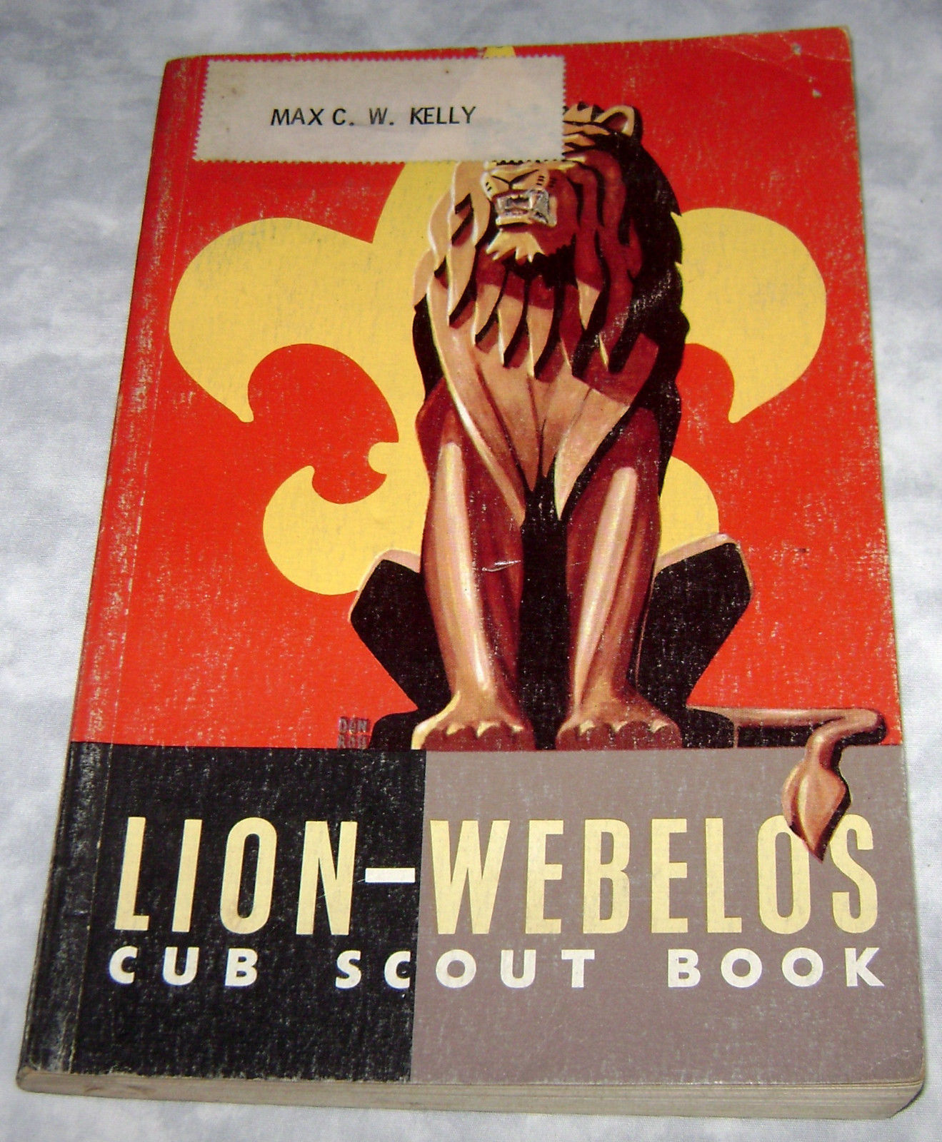 Lion Webelos Cub Scout Book Boy Scouts Of America From