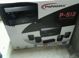 New in Box Paramax P 512 51 Channel Home Theater System