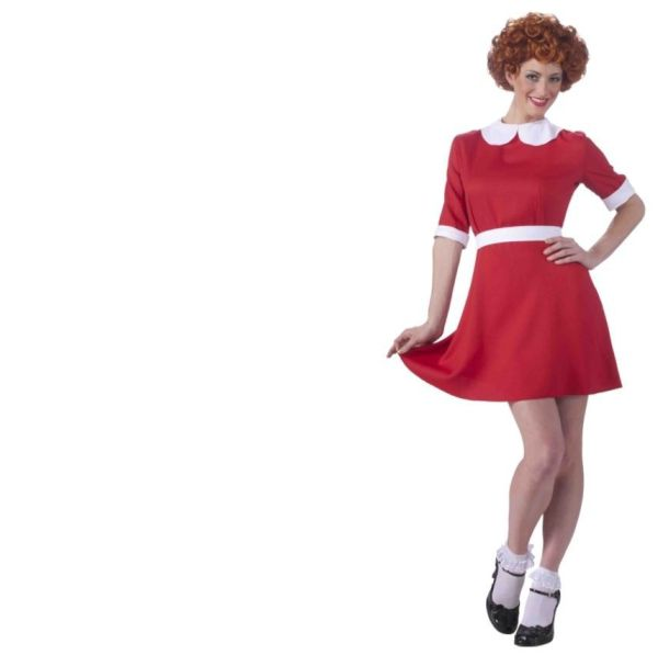 Annie - Costume Little Orphan Adult Size