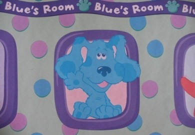 Blues Clues Bedroom Decor