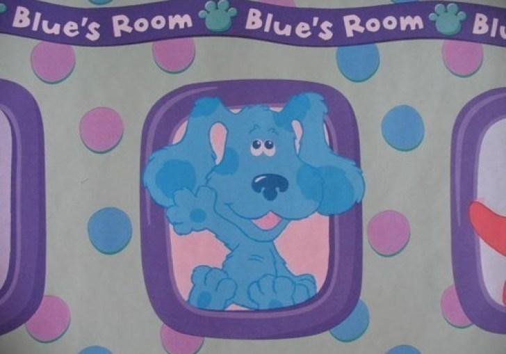 Blues Clues Bedroom Decor