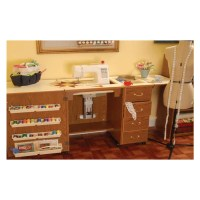 Arrow Sewing Cabinet Norma Jean Cherry Model Storage ...