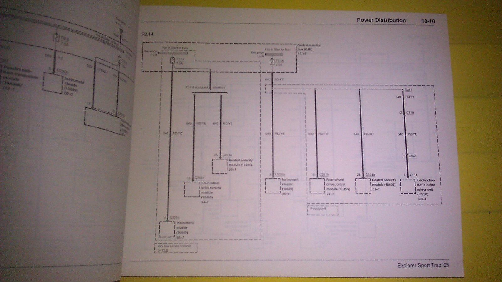 2005 Explorer Wiring Diagrams
