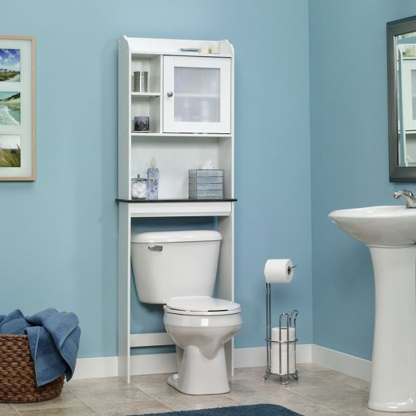 Bathroom Storage Over Toilet Shelf