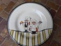 "Le Chef Dinner Plate 11"" French Bistro 2 Chefs Dinnerware ..."