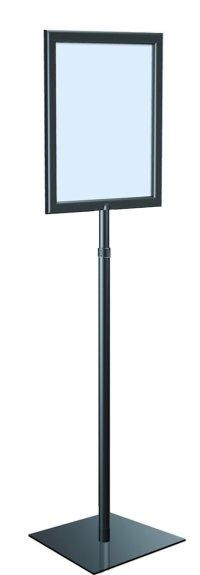 """Adjustable Pedestal Sign Holder Floor Stand, 8.5"""" X 11 ..."""