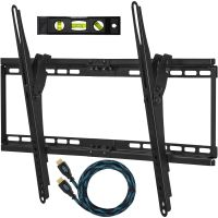Cheetah Mounts FlushTiltTV WallMount Bracket,Screen,Plasma