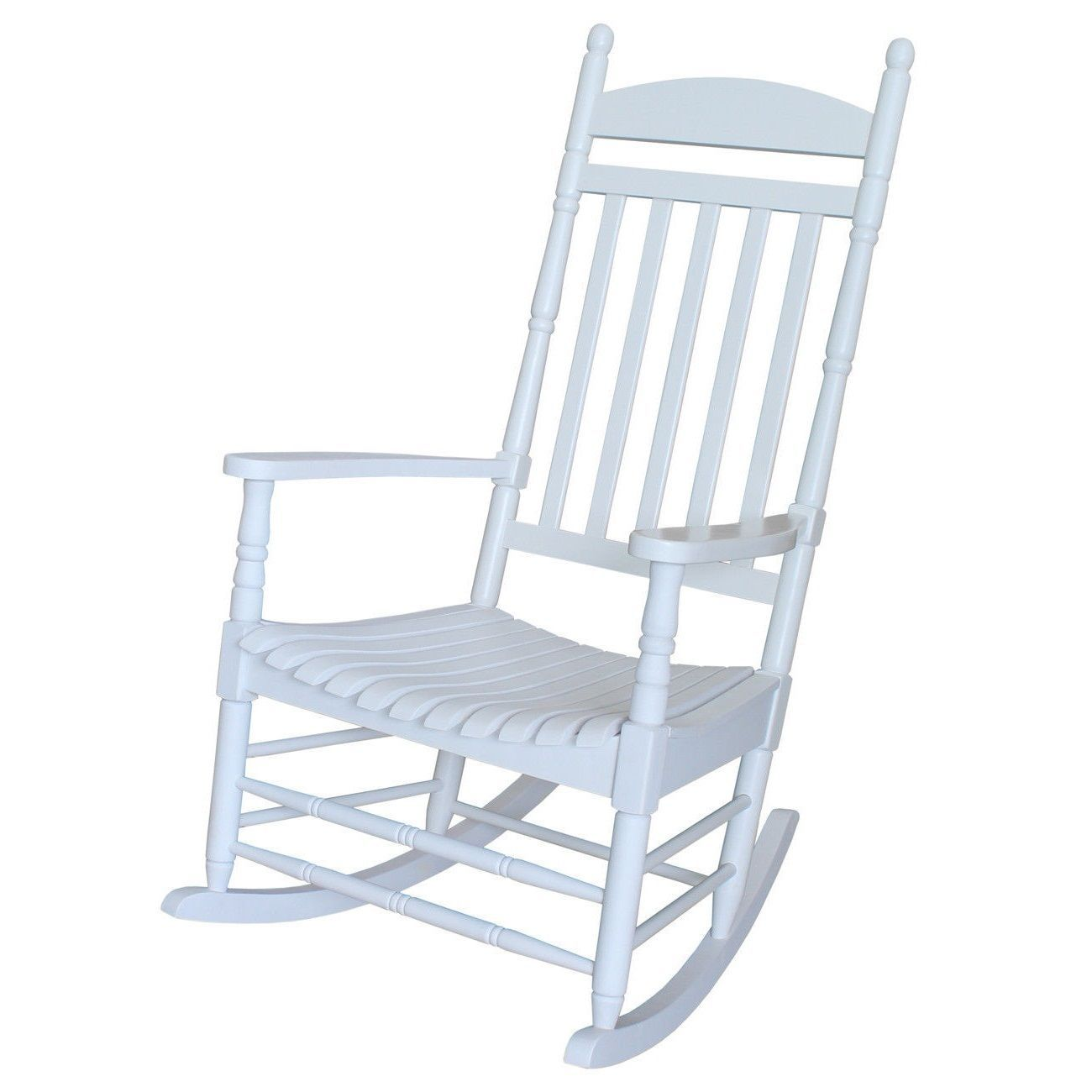 White Wood Chair Classic White Wood Front Porch Rocking Chair Chairs