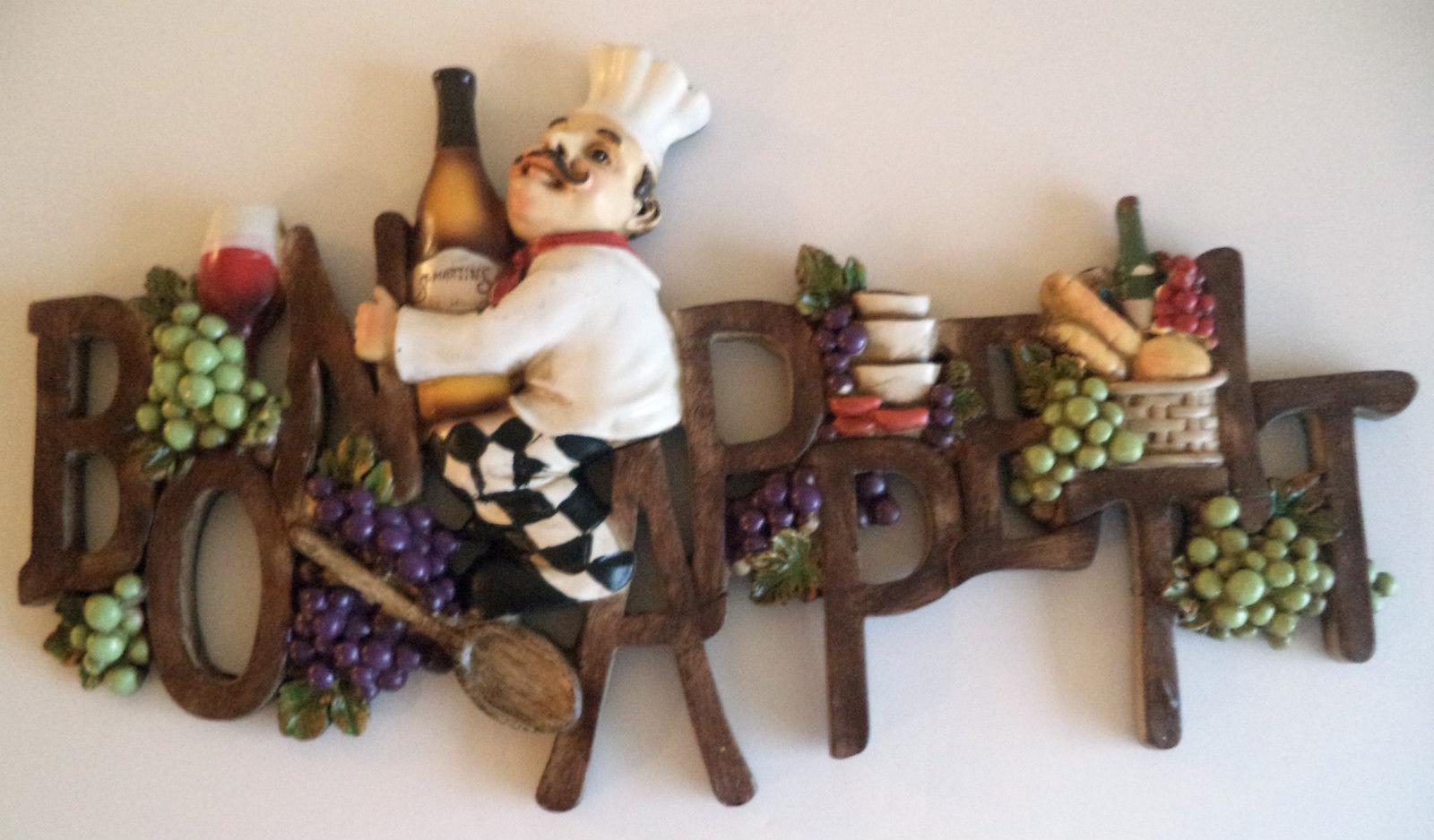 grapes and wine kitchen decor ceramic drawer pulls new bon appetit wall plaque bottles art