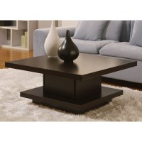 Contemporary Modern wood coffee tables unique square style ...
