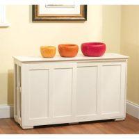 White Kitchen Storage Cabinets