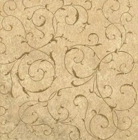 Wall Stencil Lily Scroll - Reusable stencils for easy DIY ...