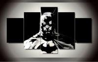 Batman 5 Panels Wall Art Canvas Print Paintings Large ...