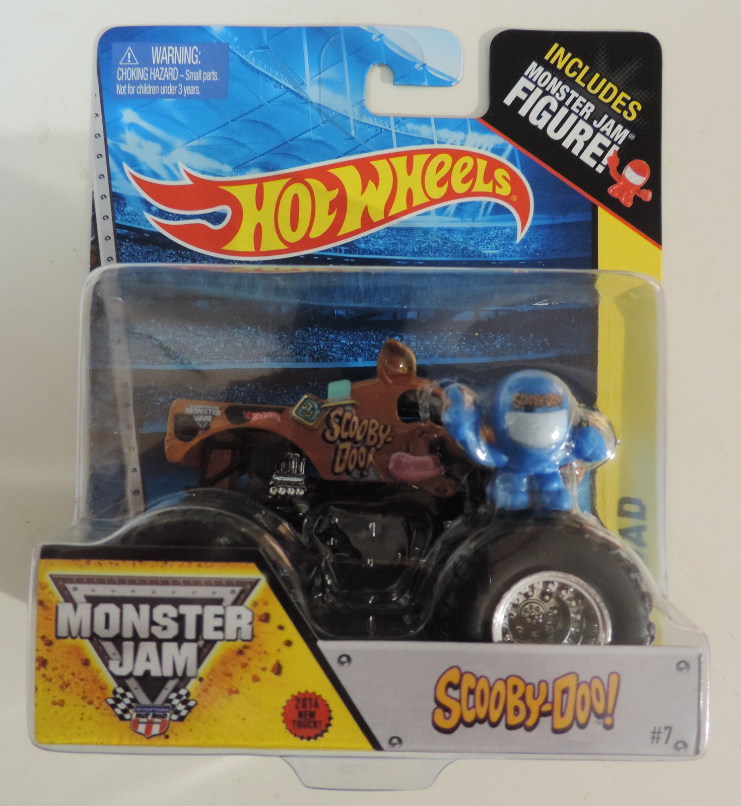 Hot Wheels Monster Jam Scooby Doo Off Road Edition Truck W