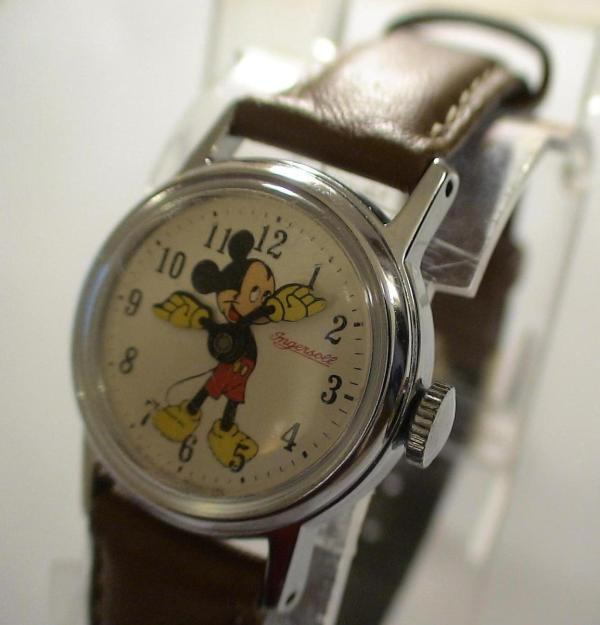 Mickey Mouse Ingersoll Watch