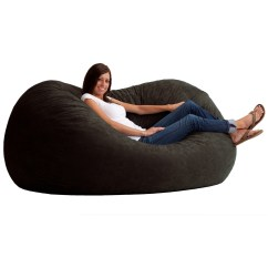 Xl Bean Bag Chair Cushions For Outdoor Chairs Bunnings Sofa Extra Large Black Furniture Relax Family