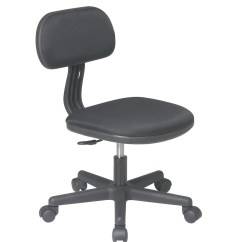Teen Office Chair High Floor Mat Uk Black Fabric Seat And Back Child 39s Teens Computer Desk Task