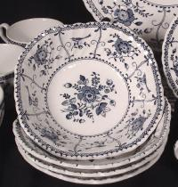 white pattern dinnerware johnson bros 20 piece dinnerware ...