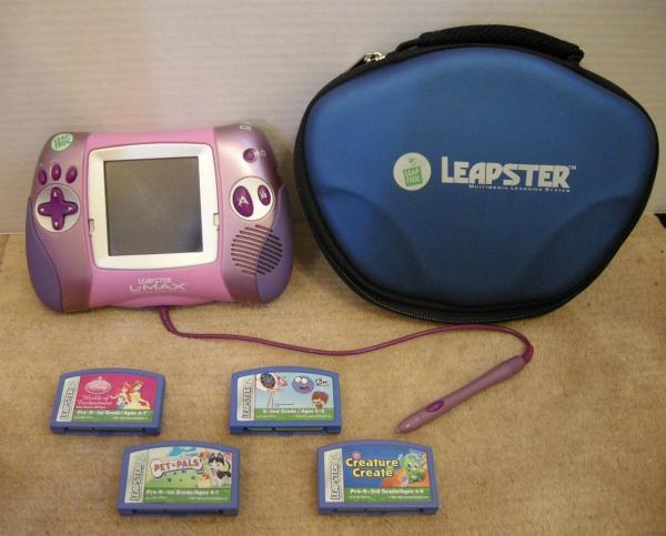 LeapFrog Leapster Pink