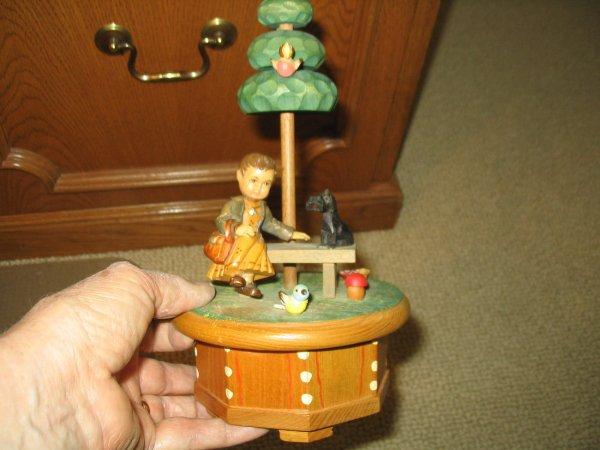 Anri Music Box Thorens Swiss Gigi Vintage And 47 Similar Items