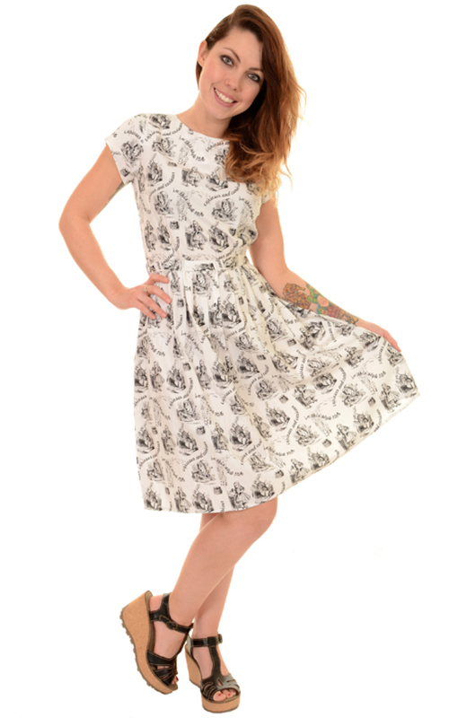 Run And Fly Alice In Wonderland Tea Party Dress By Run And Fly  Rosie The Rebel  Canada
