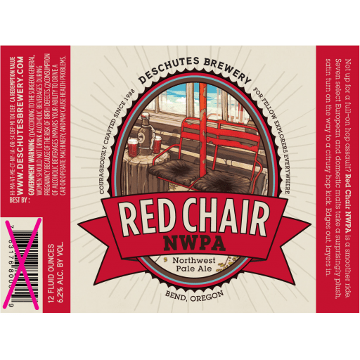 red chair nwpa abv used barber deschutes brewery epicure io about