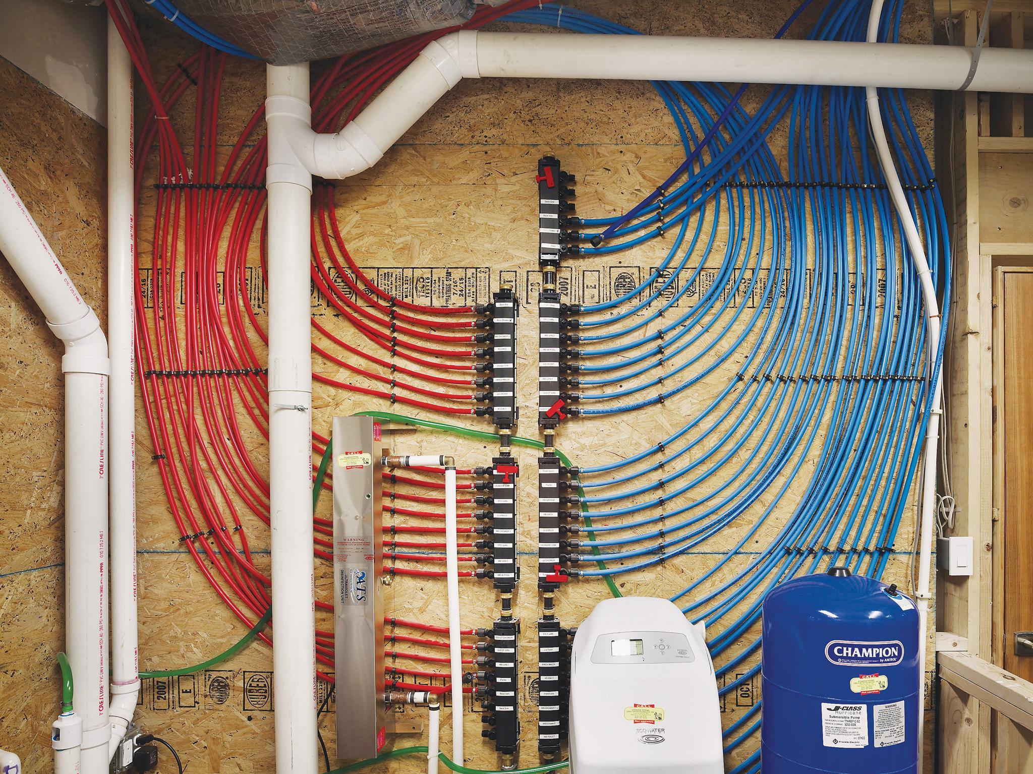pex plumbing diagram bathroom fender telecaster wiring seymour duncan saturday homeowner workshop series brick
