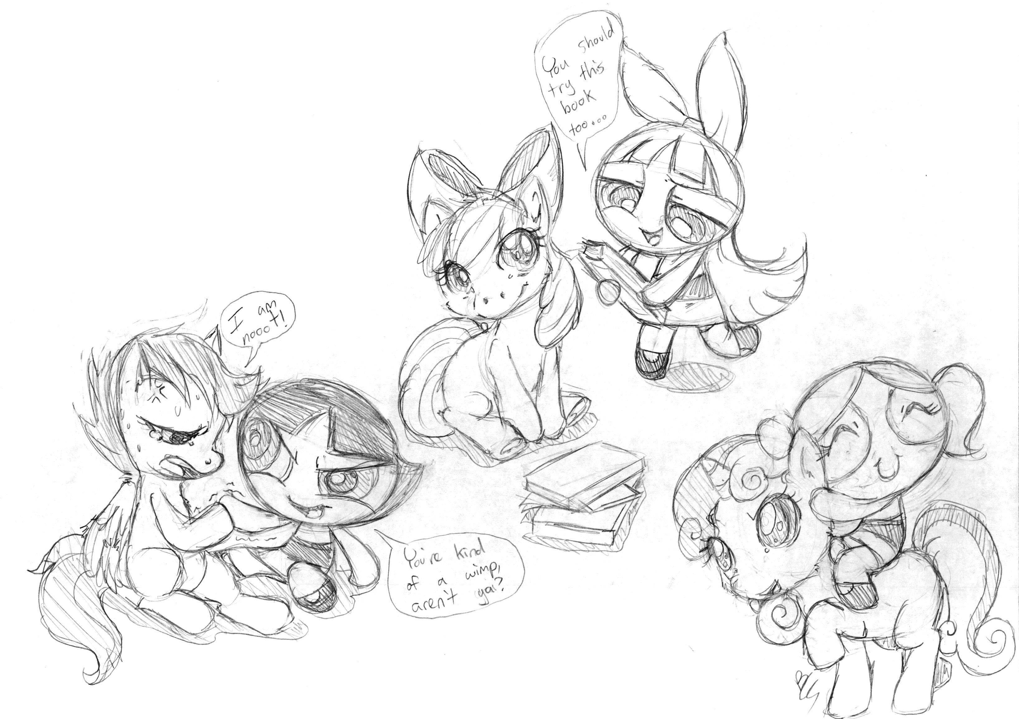 apple bloom, blossom, bubbles, buttercup, cutie mark